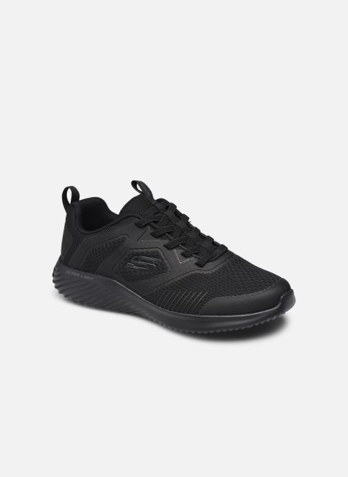 BOUNDER - Leather Overlay Lace Up Sneaker par - Skechers - Modalova