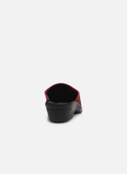 Pantofole Romika Remo 122 Rosso immagine destra