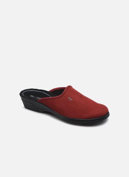 Hjemmesko Romika Remo 122 Rød detaljeret billede af skoene