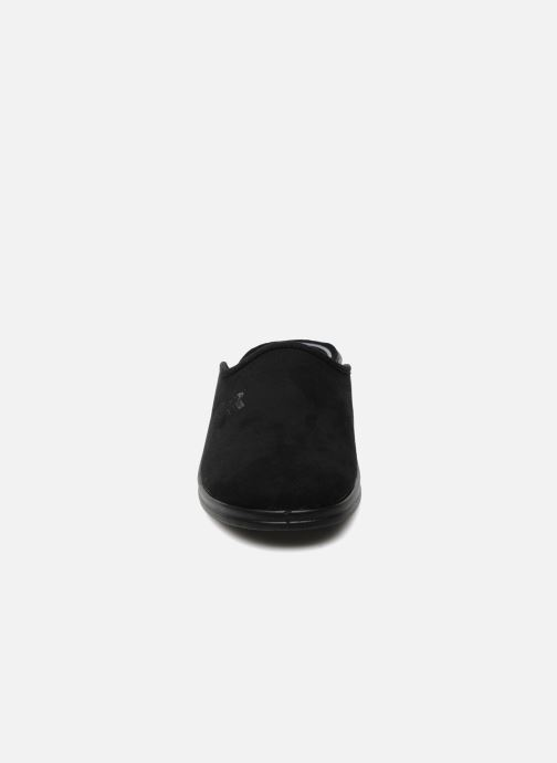 Hausschuhe Romika Remo 122 schwarz schuhe getragen