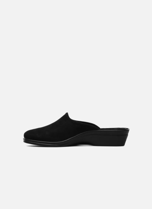 Slippers Romika Remo 122 Black front view