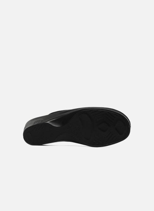 Pantofole Romika Remo 122 Nero immagine dall'alto