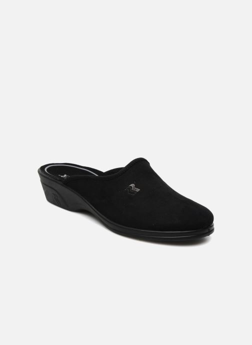Slippers Romika Remo 122 Black detailed view/ Pair view
