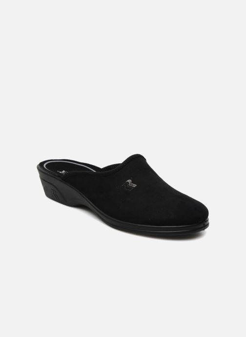 Hjemmesko Romika Remo 122 Sort detaljeret billede af skoene