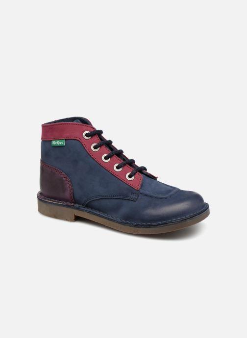 Zapatos con cordones Kickers Kick col Azul vista de detalle / par