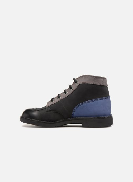 Chaussures à lacets Kickers Kick Col Noir vue face