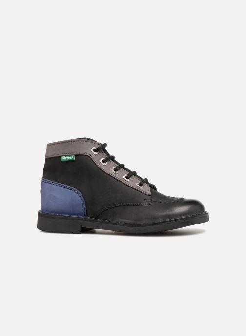 Chaussures à lacets Kickers Kick Col Noir vue derrière
