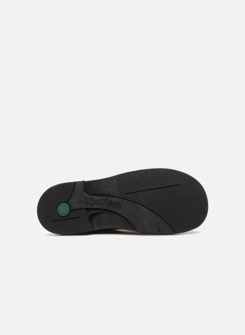 Chaussures à lacets Kickers Kick Col Noir vue haut