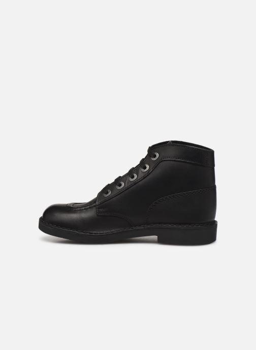 Zapatos con cordones Kickers Kick col Negro vista de frente