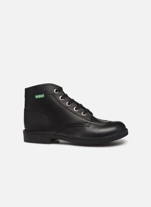 Zapatos con cordones Kickers Kick col Negro vistra trasera