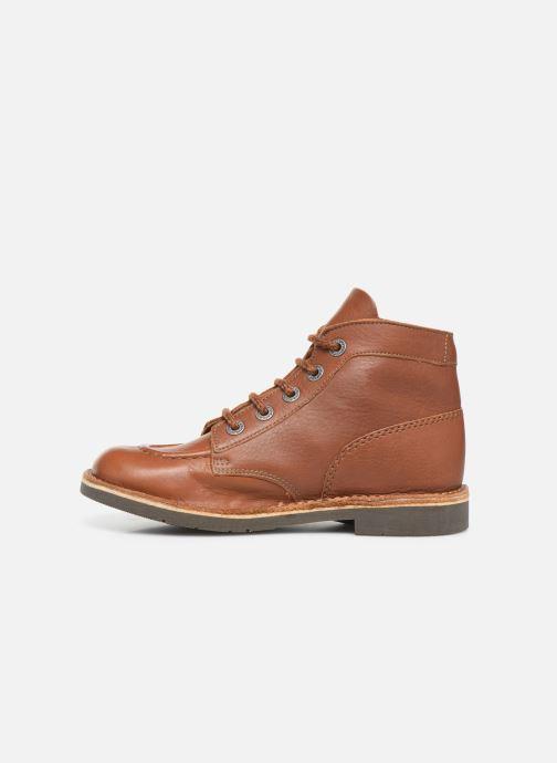 Zapatos con cordones Kickers Kick col Marrón vista de frente