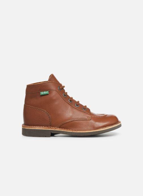 Zapatos con cordones Kickers Kick col Marrón vistra trasera