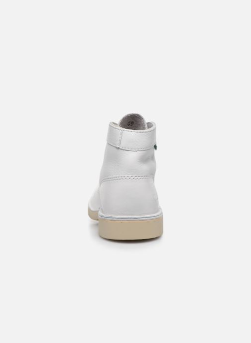 Chaussures à lacets Kickers Kick Col Blanc vue droite
