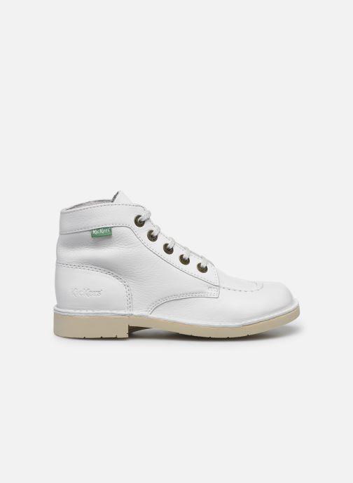 Chaussures à lacets Kickers Kick Col Blanc vue derrière