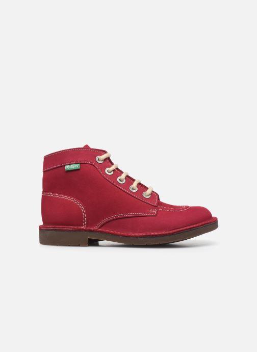 Chaussures à lacets Kickers Kick Col Rose vue derrière
