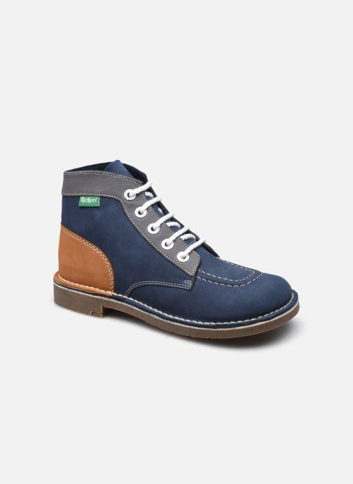 Schnürschuhe Kickers Kick col blau detaillierte ansicht/modell