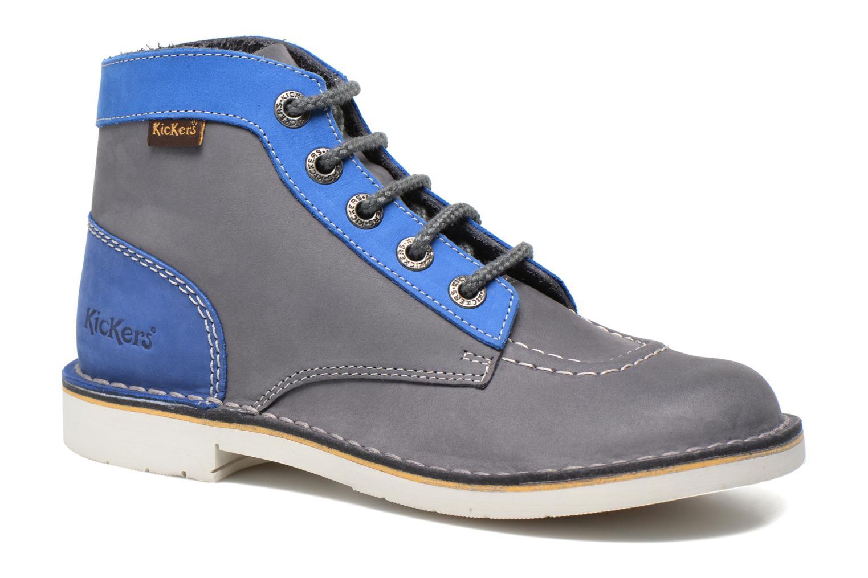 166c13ceefd77b Kickers Kick Col (Bleu) - Chaussures à lacets chez Sarenza (249660)