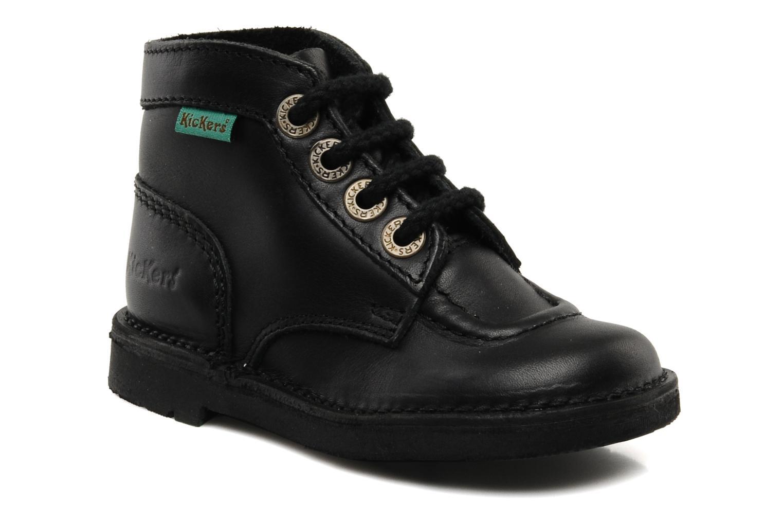18d49a422e79ab Kickers Kick Col (Noir) - Chaussures à lacets chez Sarenza (94185)