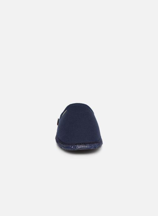 Hausschuhe Giesswein Villach M blau schuhe getragen