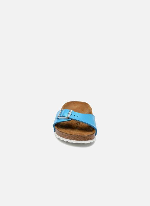 Zoccoli Birkenstock Madrid EVA W Azzurro modello indossato