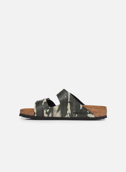 Sandales et nu-pieds Birkenstock Arizona Gris vue face
