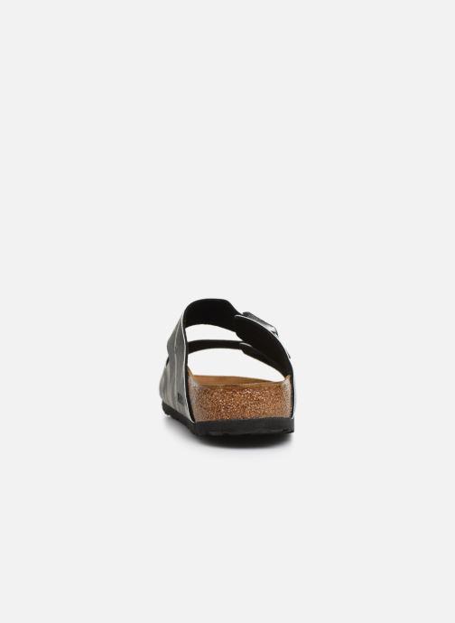 Sandales et nu-pieds Birkenstock Arizona Gris vue droite