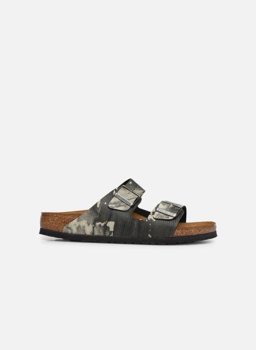 Sandales et nu-pieds Birkenstock Arizona Gris vue derrière