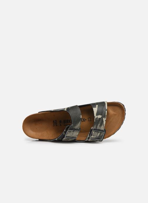 Sandales et nu-pieds Birkenstock Arizona Gris vue gauche