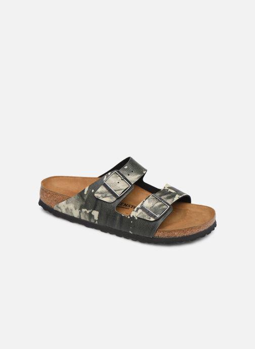 Sandales et nu-pieds Birkenstock Arizona Gris vue détail/paire
