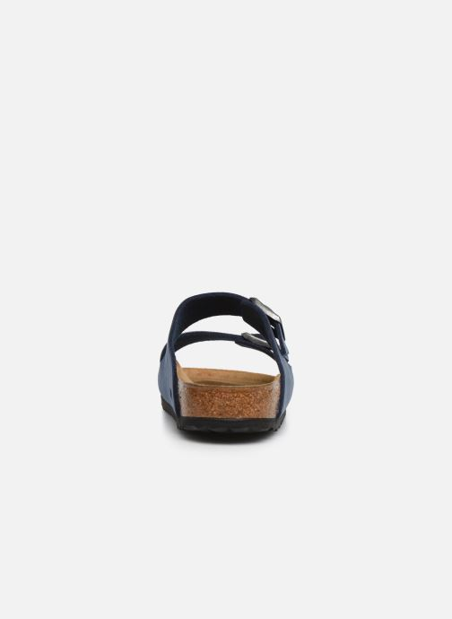 Sandales et nu-pieds Birkenstock Arizona Bleu vue droite