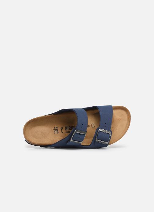 Sandalen Birkenstock Arizona blau ansicht von links