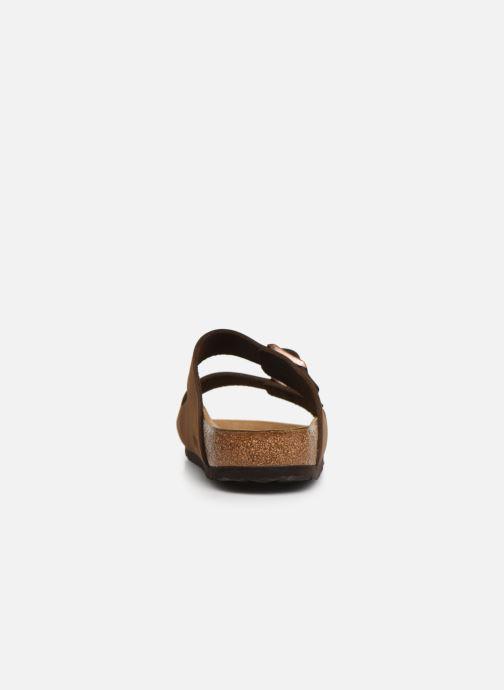 Sandales et nu-pieds Birkenstock Arizona Marron vue droite