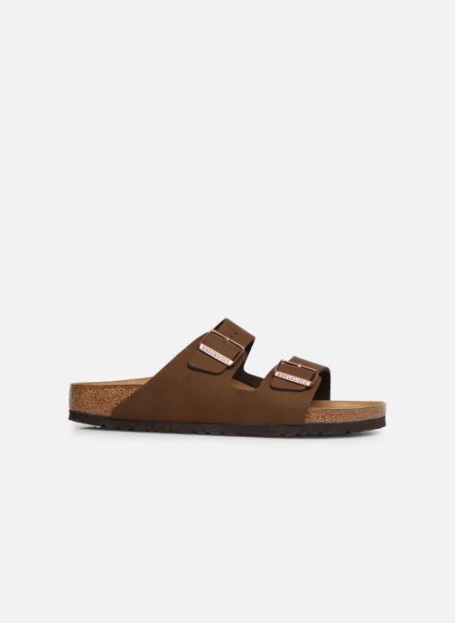 Sandales et nu-pieds Birkenstock Arizona Marron vue derrière