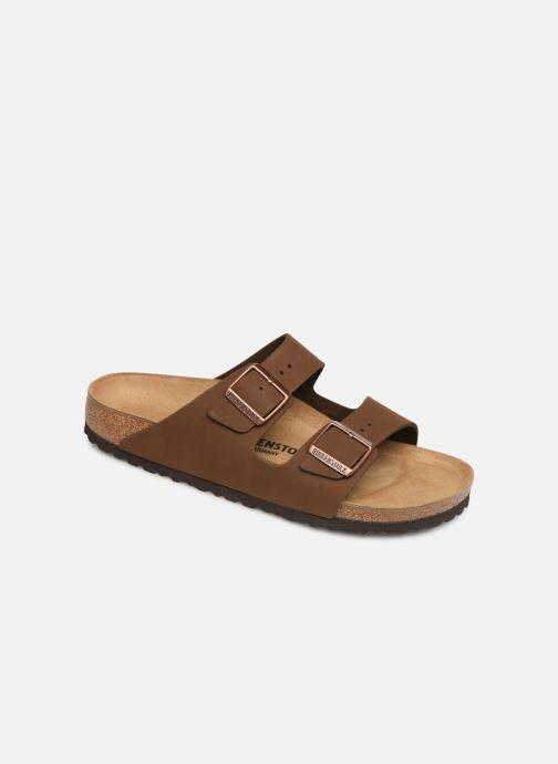 Sandales et nu-pieds Birkenstock Arizona Marron vue détail/paire