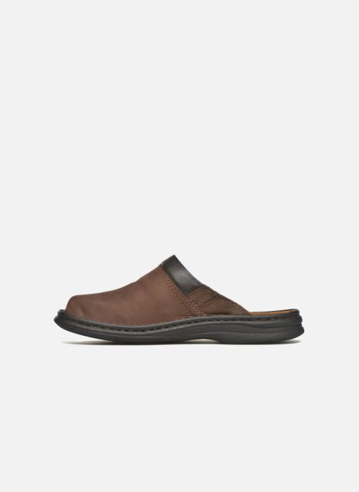 Slippers Josef Seibel Max Brown front view