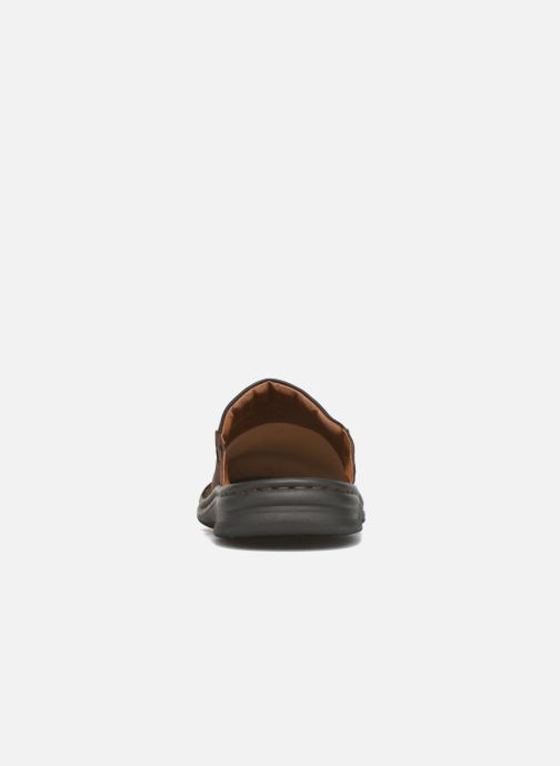 Slippers Josef Seibel Max Brown view from the right