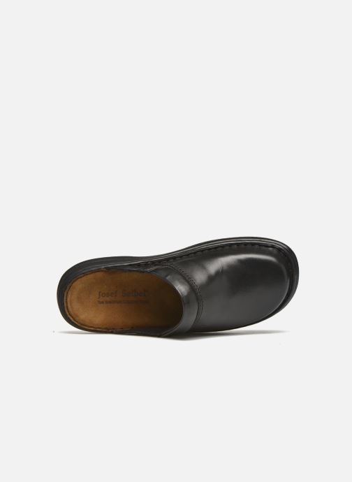 Slippers Josef Seibel Max Black view from the left