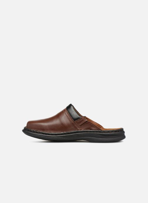 Chaussons Josef Seibel Max Marron vue face