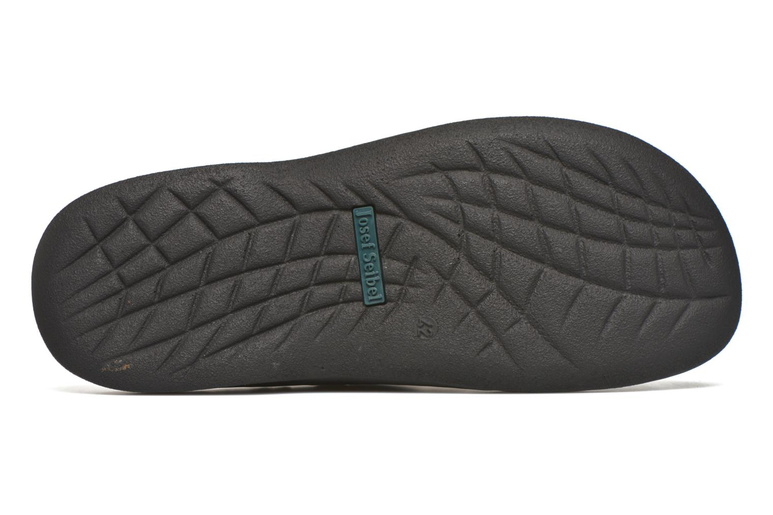 Slippers Josef Seibel Max Brown view from above