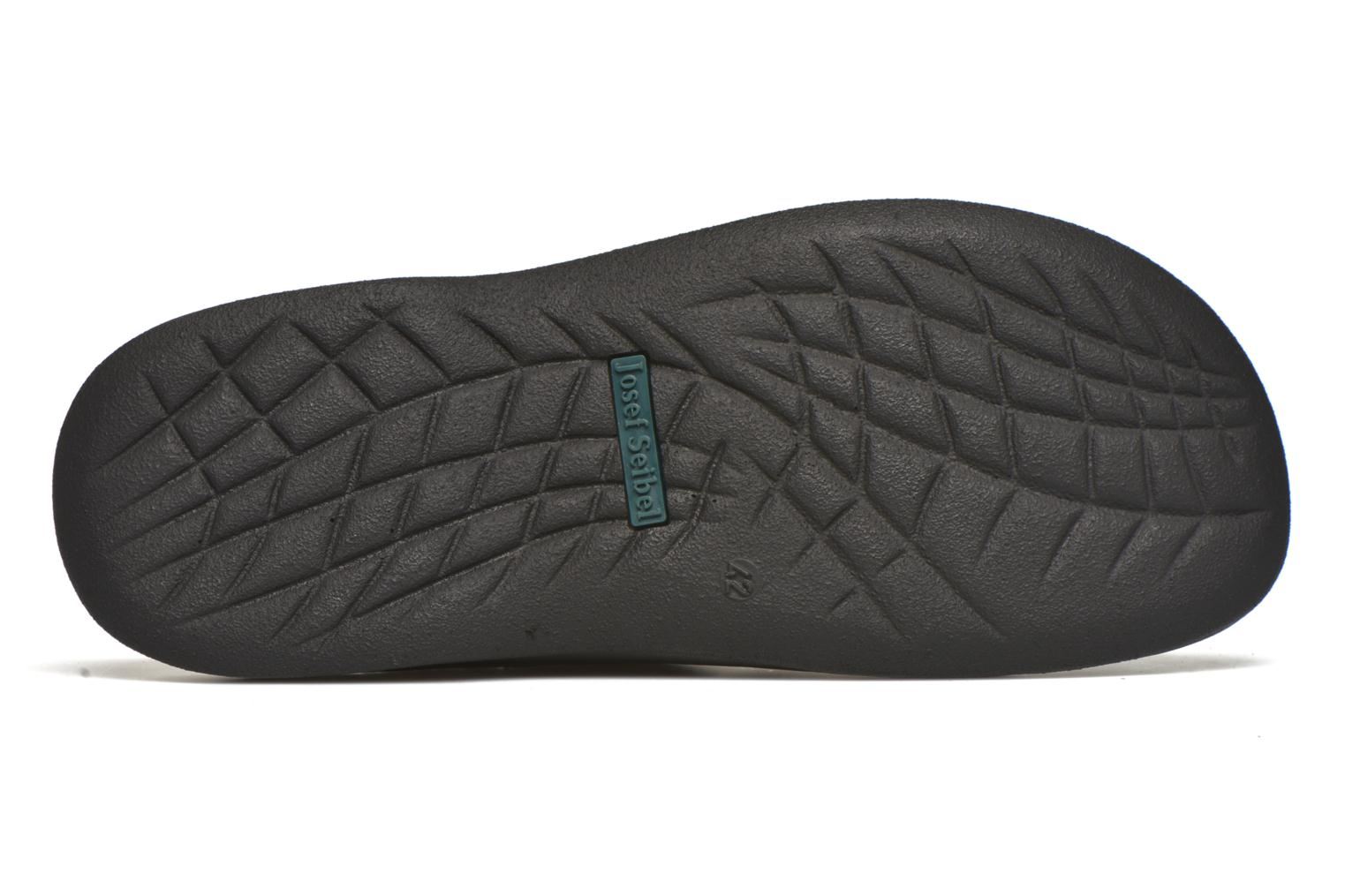 Slippers Josef Seibel Max Black view from above