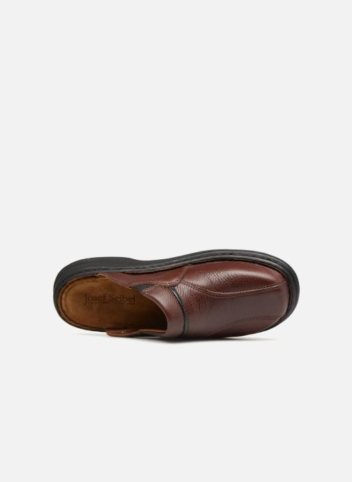 Pantofole Josef Seibel Klaus Marrone immagine sinistra