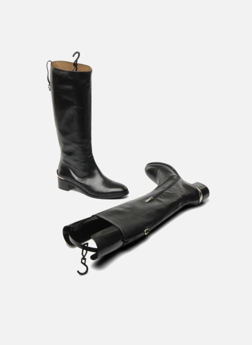 Schuhpflegeprodukte Famaco Stiefelspanner schwarz ansicht von oben