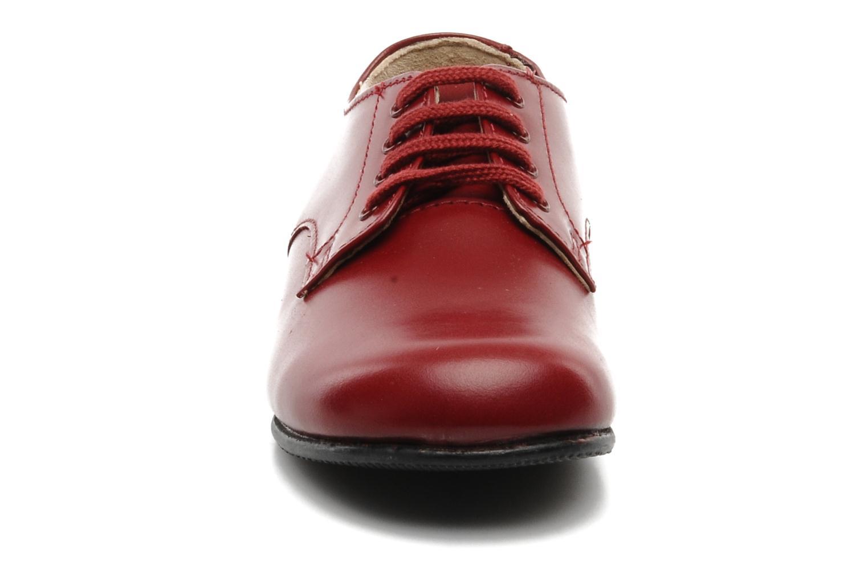 Chaussures à lacets Start Rite John Rouge vue portées chaussures
