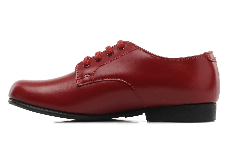Chaussures à lacets Start Rite John Rouge vue face