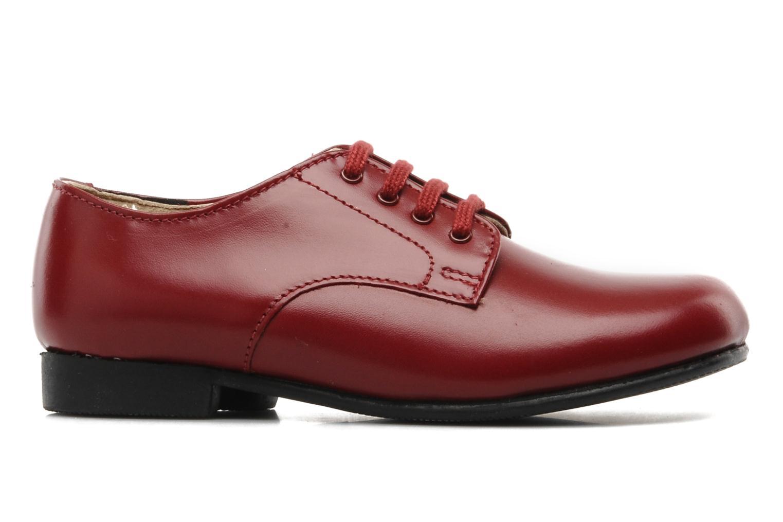 Chaussures à lacets Start Rite John Rouge vue derrière