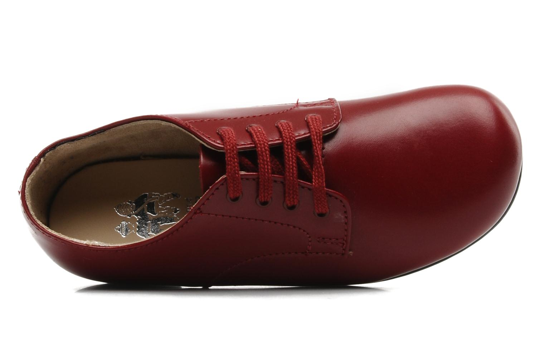Chaussures à lacets Start Rite John Rouge vue gauche