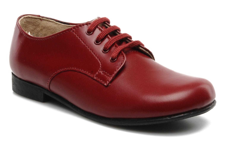 Chaussures à lacets Start Rite John Rouge vue détail/paire