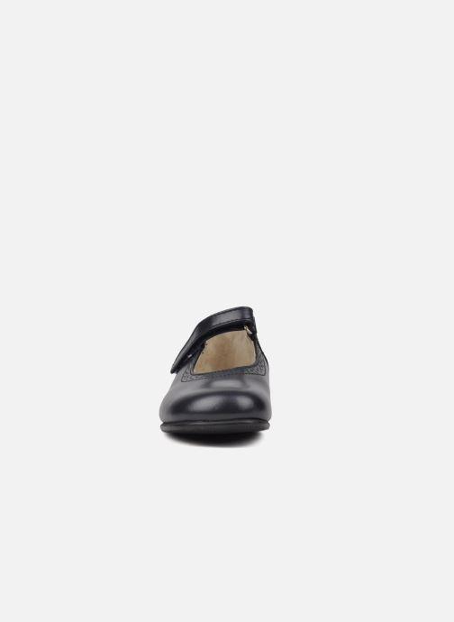 Ballerines Start Rite Delphine Bleu vue portées chaussures