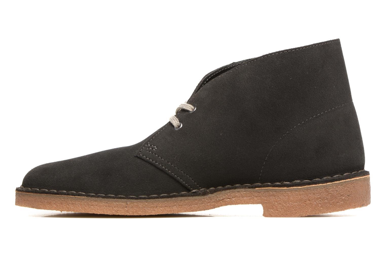 Bottines et boots Clarks Desert Boot Gris vue face