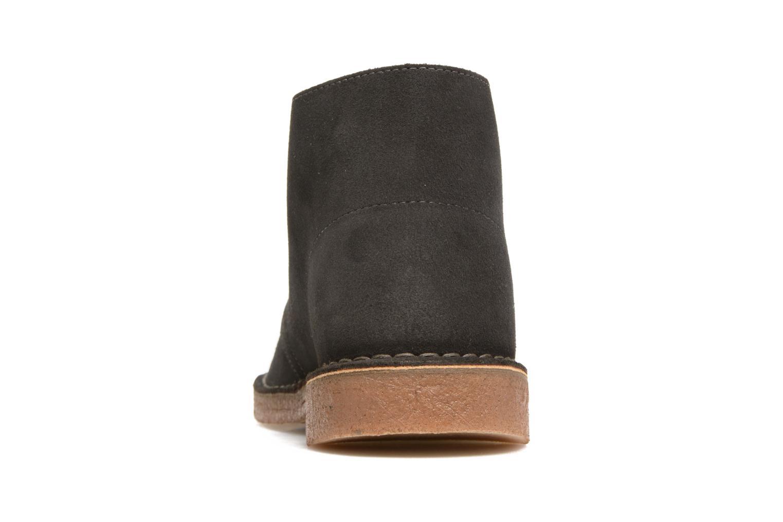 Bottines et boots Clarks Desert Boot Gris vue droite